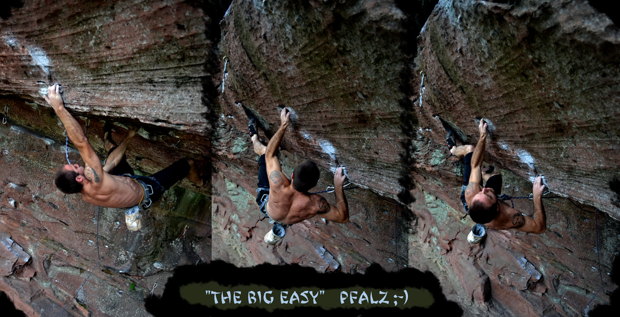 the big easy 7c in pfalz / retschelfels